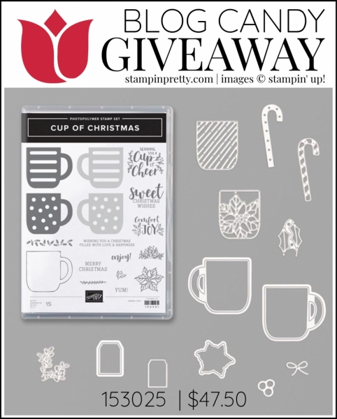 Blog Candy Cup of Christmas Giveaway Mary Fish Winner