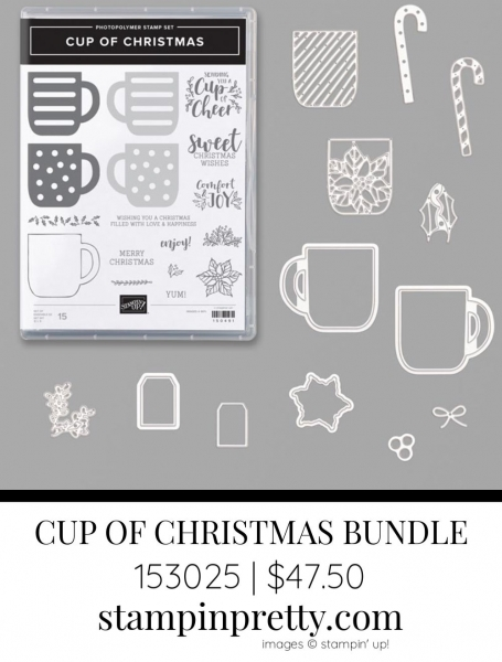 Cup of Christmas Bundle by Stampin' Up! 153025
