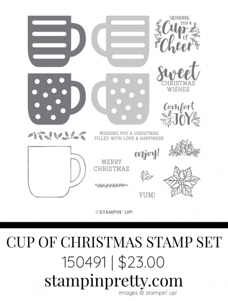 Cup of Christmas Stamp Set by Stampin' Up! 150491