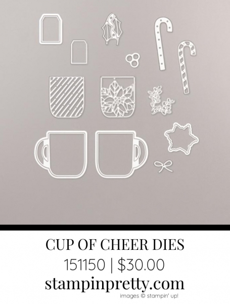 Cup of Cheer Dies by Stampin' Up! 151150