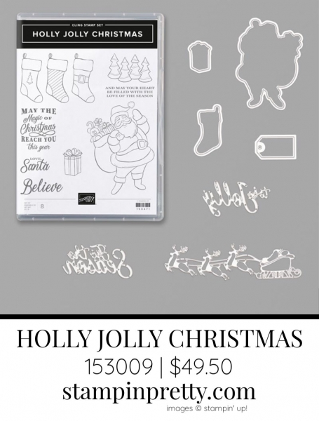 HOLLY JOLLY CHRISTMAS Bundle by Stampin' Up! 153009