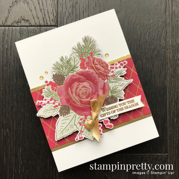 Limited Release Christmastime is Here Suite from Stampin' Up! Card by Mary Fish, Stampin' Pretty!