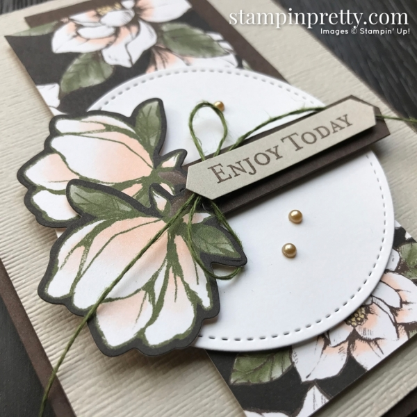 Magnolia Lane Suite from Stampin Up! Card by Mary Fish, Stampin' Pretty