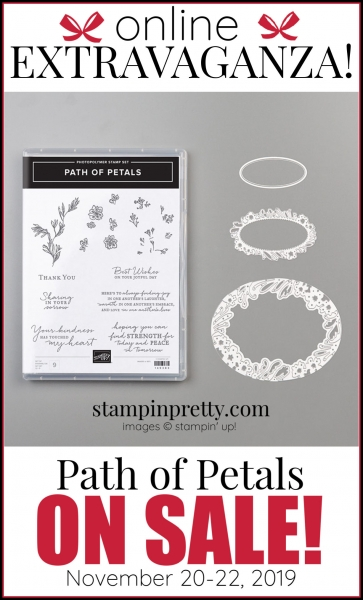 Online Extravaganza 151131 Path of Petals by Stampin' Up!