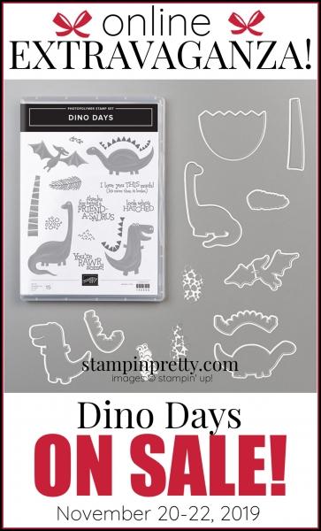 Online Extravaganza 151139 Dino Days by Stampin' Up!