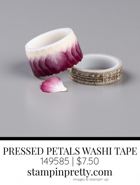 PRESSED PETALS Specialty Washi Tape From Stampin' Up! 149585 | $7.50