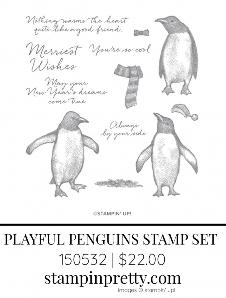 Playful Penguins Stamp Set by Stampin' Up! 150532