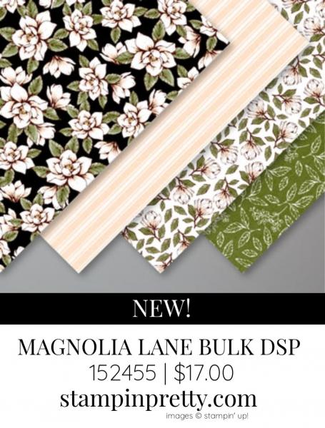MAGNOLIA LANE BULK DESIGNER SERIES PAPER FROM STAMPIN' UP!