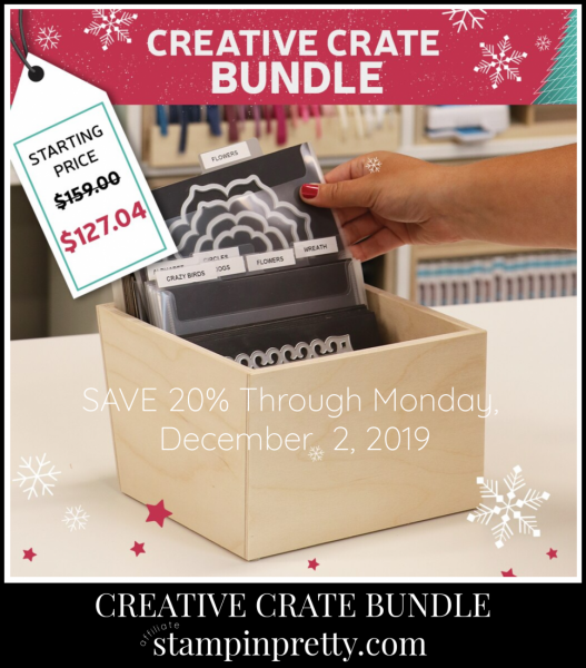 Stamp N Storage Creative Crate Bundle Promo