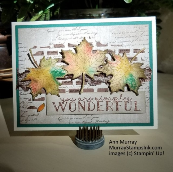 Stampin' Pretty Pals Sunday Picks 11.03 - Ann Murray