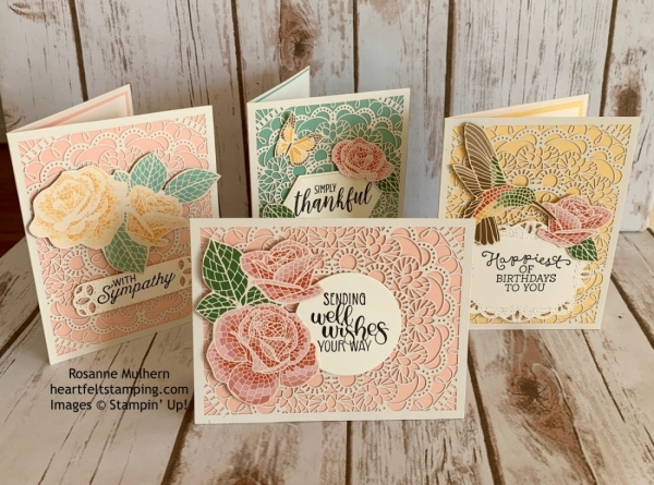 Stampin' Pretty Pals Sunday Picks 11.03 - Rosanne Mulhern