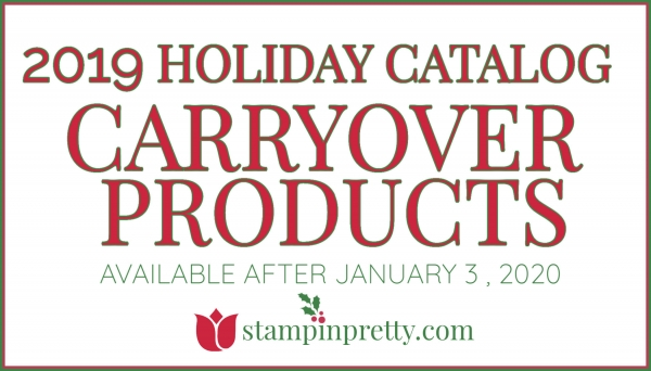 2019 Holiday Carryover Products