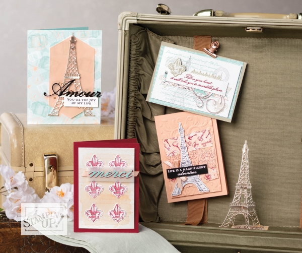 Parisian Beauty Bundle from Stampin' UP! 153778 $43.00