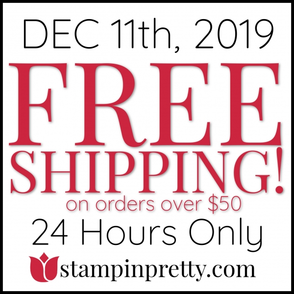 Free Shipping - Wednesday, December 11th Only!