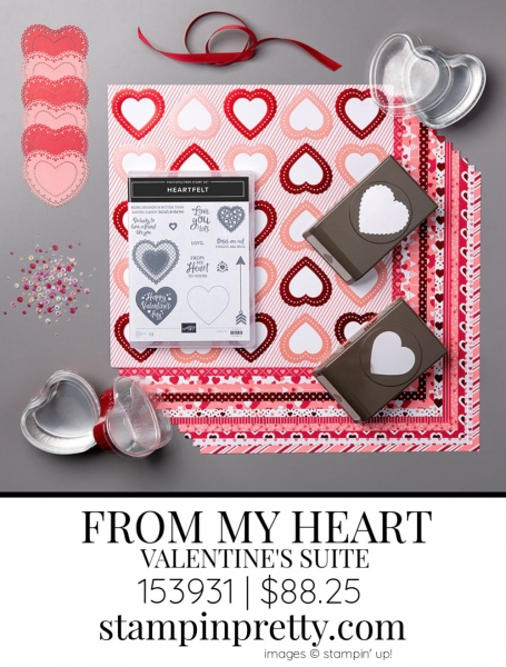 From My Heart Suite by Stampin' up! 153931 Sneak Peek