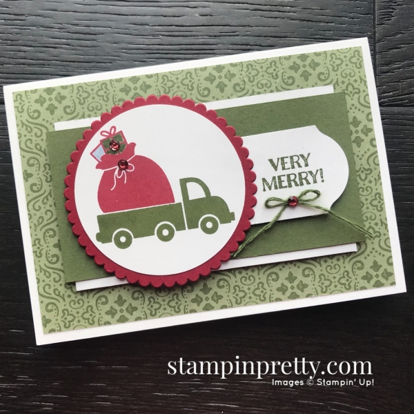Holiday Haul Stampin' Rewards Exclusive Stamp Set from Stampin' Up! Note card by Mary Fish, Stampin' Pretty(3)
