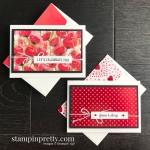 Peaceful Poppies & From My Heart Designer Series Paper by Stampin