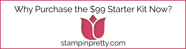 Why Purchase the Stampin' Up! $99 Starter Kit Now?