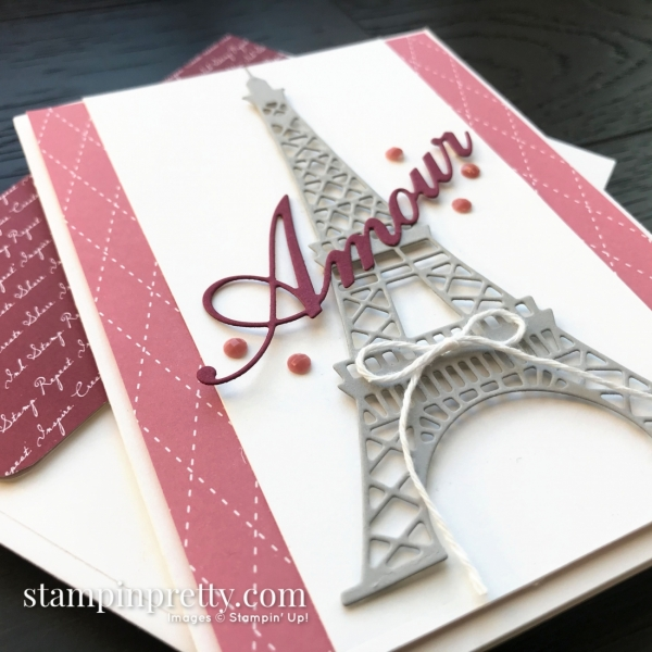 Parisian Dies by Stampin' Up! 2020 Mini Catalog. Card by Mary Fish, Stampin' Pretty