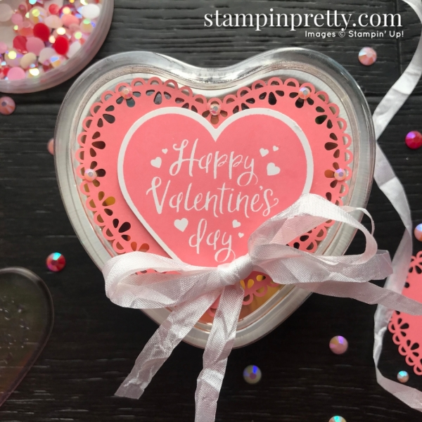 QUICK & EASY! Heart Foil Tins _ From the Heart Suite by Stampin' Up! Decorated by Mary Fish, Stampin' Pretty
