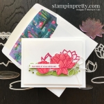 SNEAK PEEK - Lovely Lily Pad & Lily Pad Dies Sale-A-Bration Promotion FREE WITH QUALIFYING PURCHASE Mary Fish, Stampin