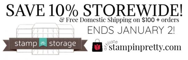 STAMP N STORAGE SALE 10% Storewide & Free Shipping