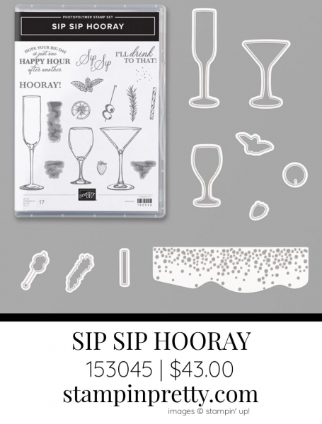 Sip Sip Hooray Bundle by Stampin' Up! 153045