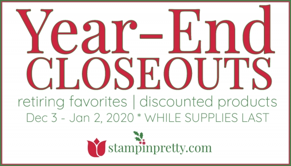 2019 Holiday Year-End Closeouts Starts Now!