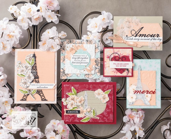 Parisian Blossoms Suite by Stampin' Up!