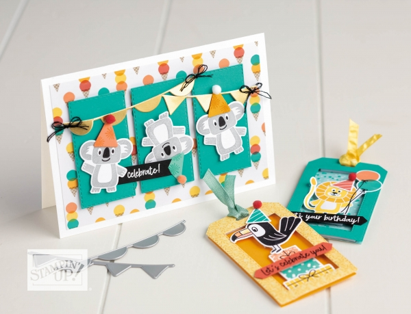 Birthday Bonanza Suite by Stampin' Up!