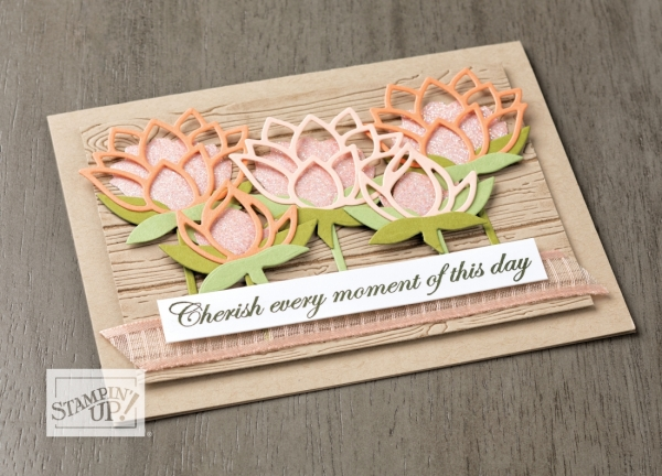 Stampin' Up! Sale-A-Bration Lily Pad Die Catalog Sample