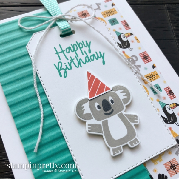 Birthday Bonanza Suite by Stampin' Up! Child Birthday Card by Mary Fish, Stampin' Pretty