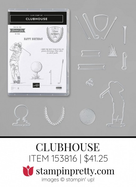 Clubhouse Bundle 153816 by Stampin Up
