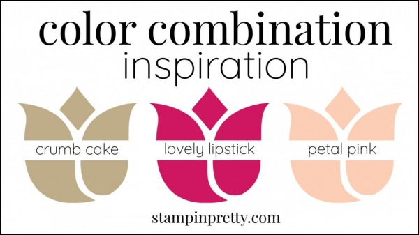 Color Combinations Crumb Cake, Lovely Lipstick, Petal Pink