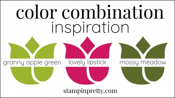 Color Combinations Granny Apple Green, Lovely Lipstick, Mossy Meadow