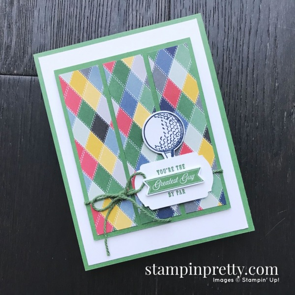 Country Club Designer Series Paper & Clubhouse Bundle from Stampin' Up! Card by Mary Fish, Stampin' Pretty(2)