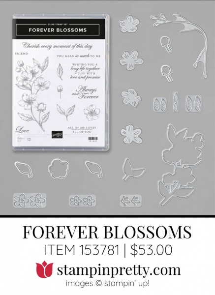 Forever Blossoms 153781 by Stampin Up!
