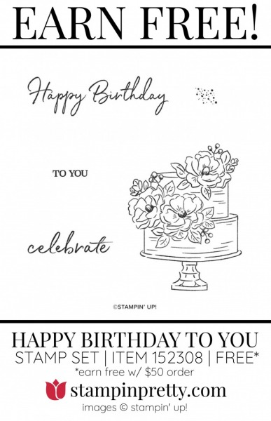 HAPPY BIRTHDAY TO YOU 152308 FREE Item