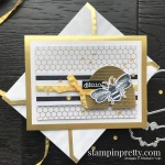 Honey Bee Bundle & Golden Honey Designer Series Paper from Stampin