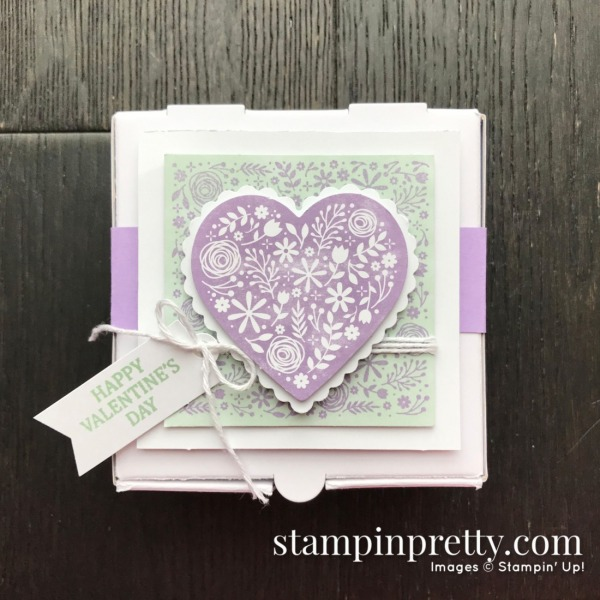I'll Be Yours January 2020 Paper Pumpin Alternate #1 Mary Fish, Stampin' Pretty