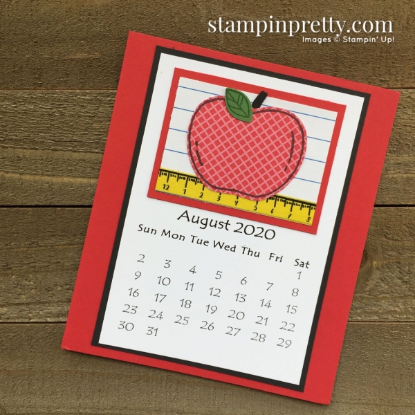 Linda White 2020 Calendar - August