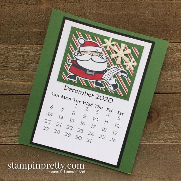 Linda White 2020 Calendar - December