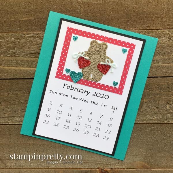 Linda White 2020 Calendar - February