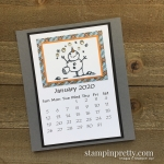 Linda White 2020 Calendar - January