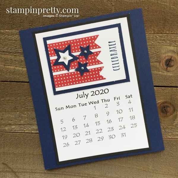 Linda White 2020 Calendar - July