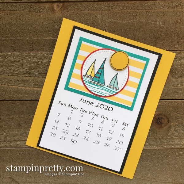 Linda White 2020 Calendar - June