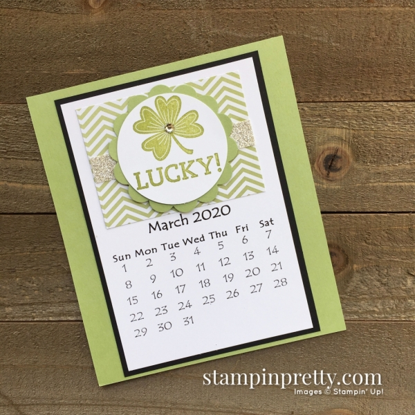 Linda White 2020 Calendar - March