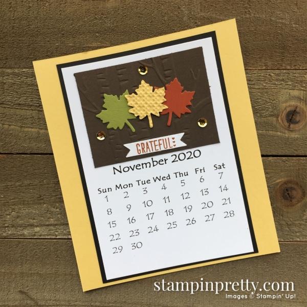 Linda White 2020 Calendar - November