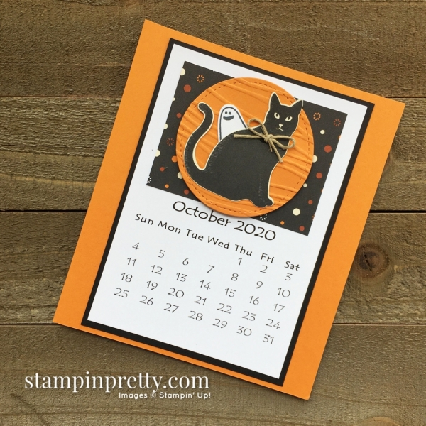 Linda White 2020 Calendar - October