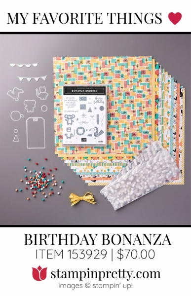 My Favorite Things Birthday Bonanza Suite